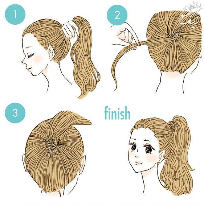 راهنمای قدم به قدم بافت موهای جذاب برای خانم ها