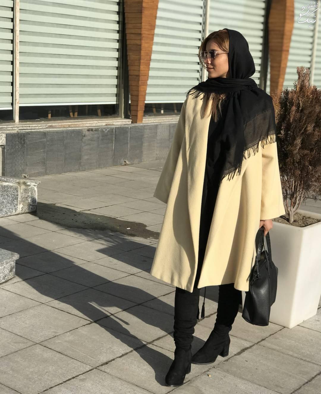 مانتو لگ تیپ های خیابانی از استریت استایل دختران ایرانی