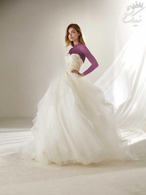 مدل های لباس عروس مناسب عروس های ریز نقش