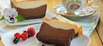 روش درست کردن چیز کیک شکلاتی فوق العاده خوشمزه