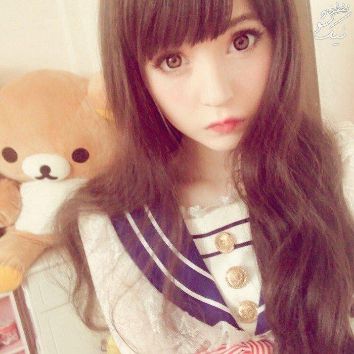 ونوس آنجلیک دختر عروسکی جذاب که باورتان نمی شود زنده است