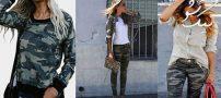 راهنمای ست کردن لباس ارتشی برای خانم های جوان