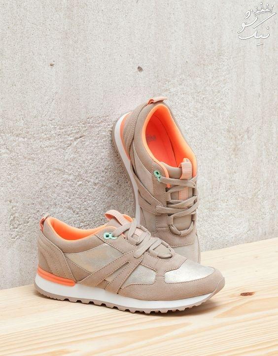 مدل کفش اسپرت دخترانه مد بهار و تابستان