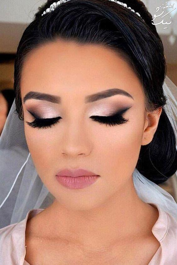 انواع جدید مدل آرایش و گریم عروس واقعا شیک