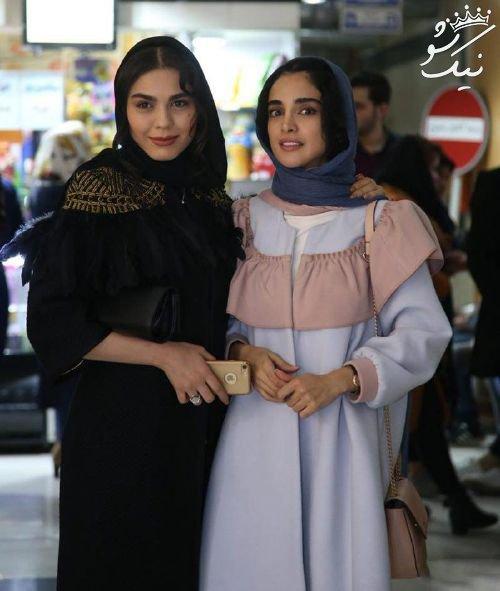 استایل الهه حصاری در جشنواره فیلم فجر 36