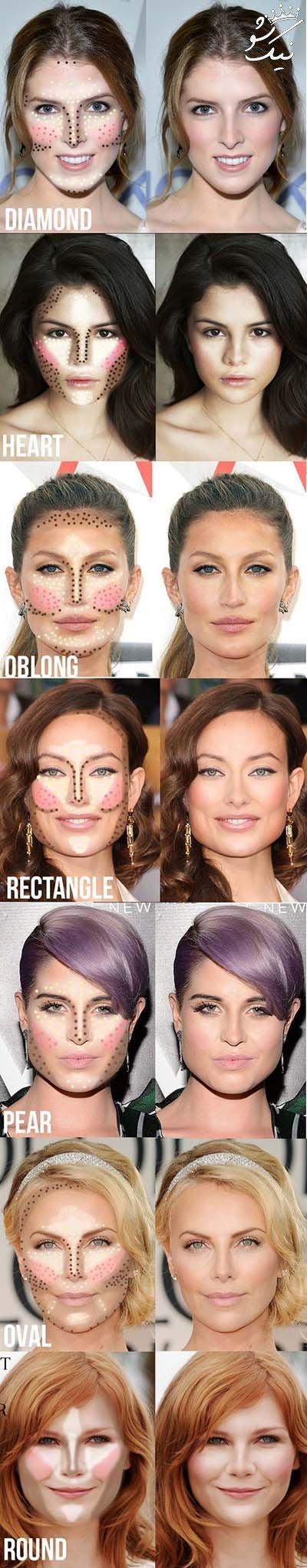 راز آرایش برترین سلبریتی های زن جهان