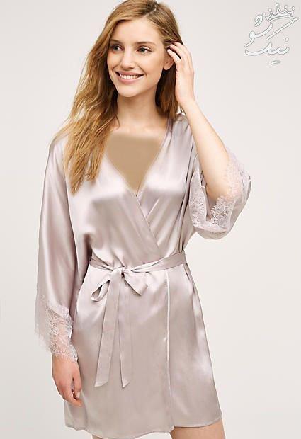 انواع جذاب ترین ست لباس خواب عروس و داماد شیک