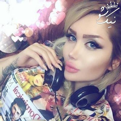 عکس های انسیه رحیمیان مدل ایرانی مشهور اینستاگرام