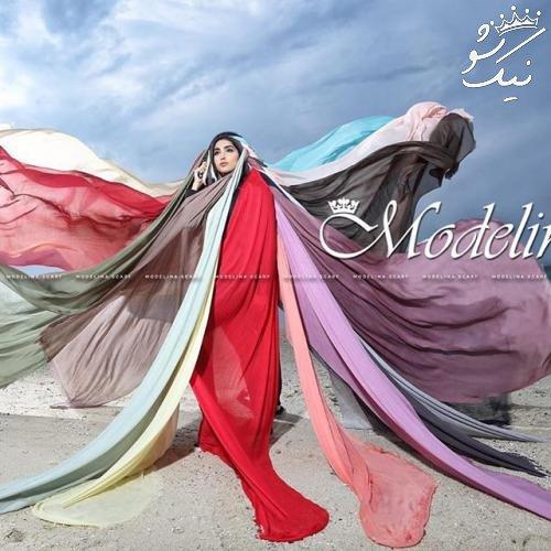 زیباترین مدل های شال و روسری نوروزی با برند مدلینا
