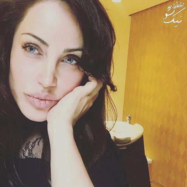 رامانا سیاح بدل Angelina Jolie در اکران شاخ کرگدن