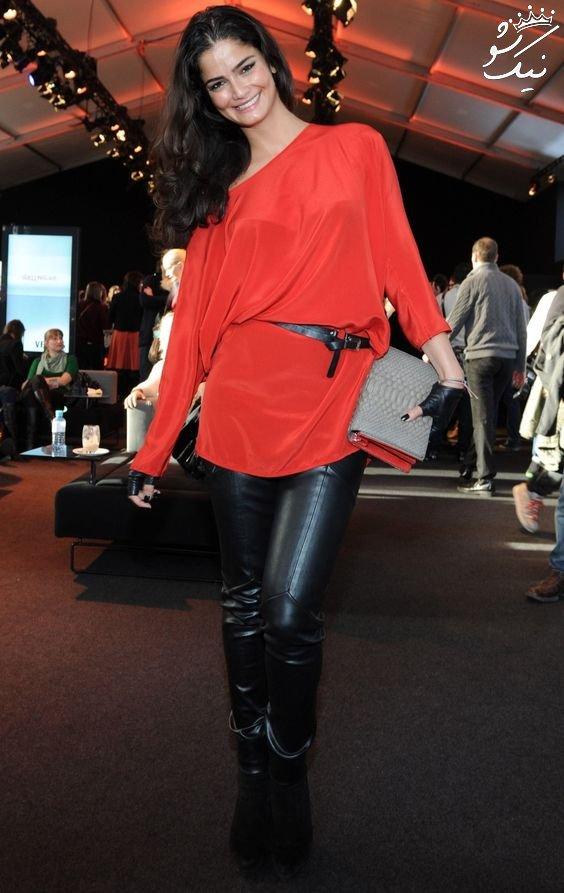 بیوگرافی شرمینه شهریور shermine shahrivar مدل ایرانی در اروپا