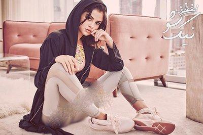 شات های خفن از اندام سلنا گومز همراه با برند پوما Puma