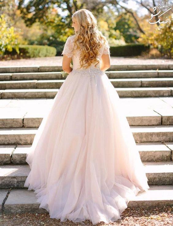 جذاب ترین مدل لباس عروس بلند و ساده
