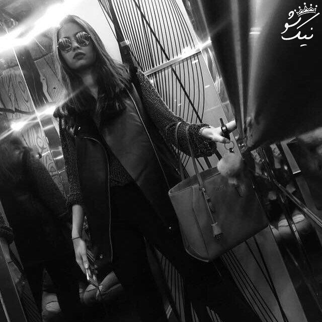 همراه با امینه گولشه بازیگر زیبای ترکیه ای و نامزد مسعود اوزیل