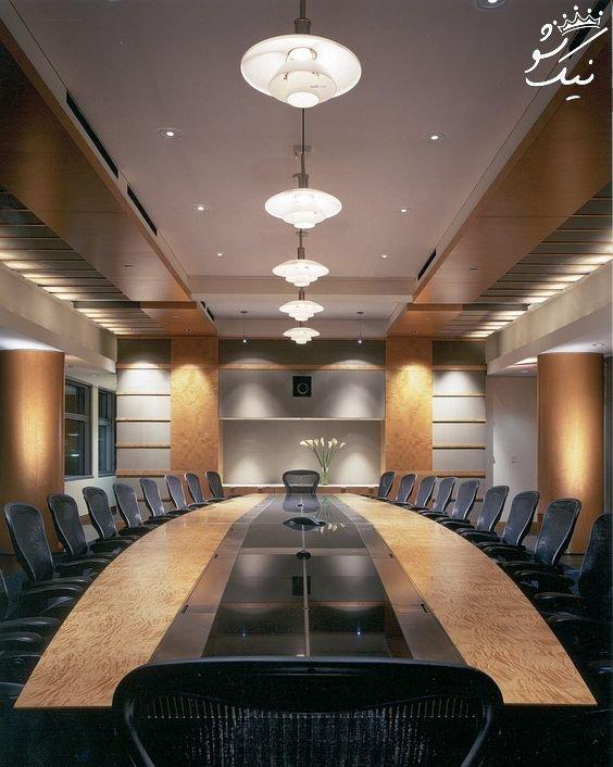 طراحی داخلی و دیزاین دفتر اداری