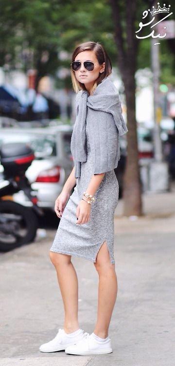 مدل بلوز دامن بلند زنانه شیک که مد امسال هستند
