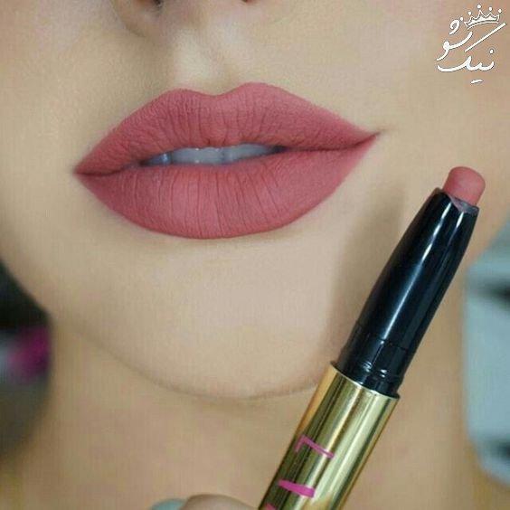 مدل رژ لب دخترانه از بهترین آرایش های لب