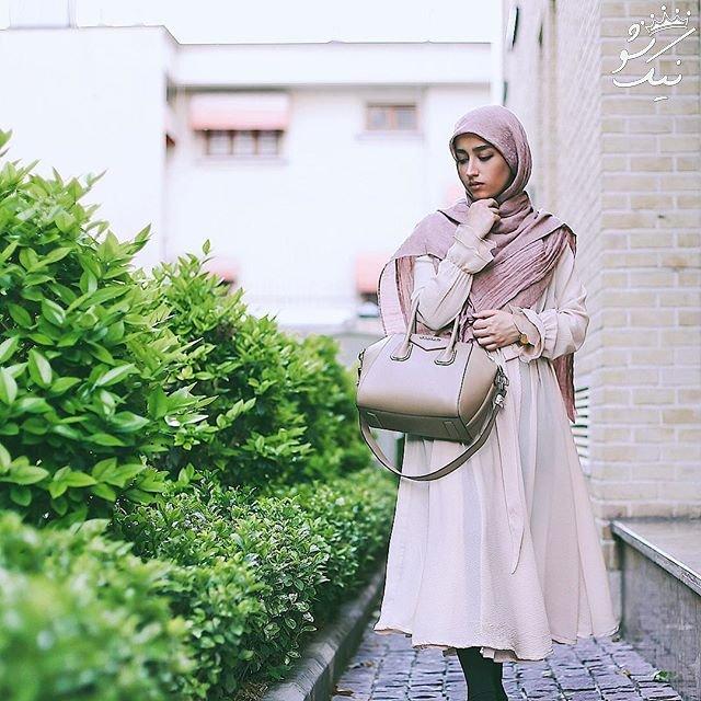 حجاب استایل به سبک دختران شیک پوش ایرانی