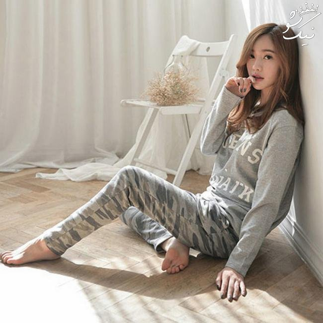 مدل لباس راحتی زنانه ,بانوی جذاب و شیک پوش در خانه