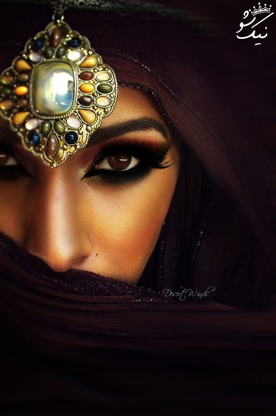 مدل های آرایش عربی جذاب و خواستنی