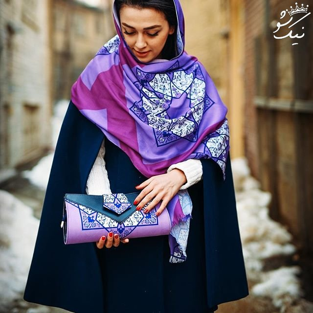 ست های بی نظیر شال و کیف دخترانه
