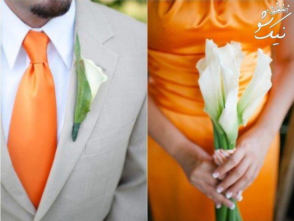 ترکیب رنگ هایی برای تزئین دکور عروسی