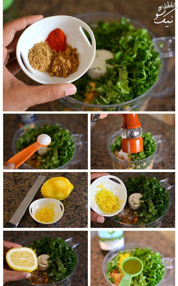 پخت فلافل با روشی متفاوت