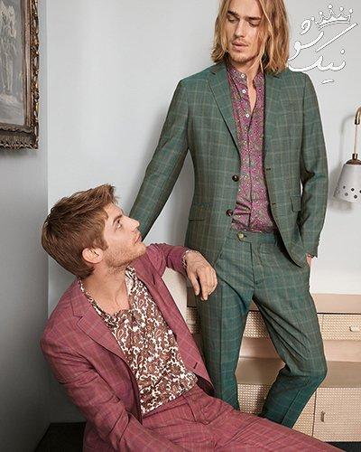 ست رنگ کت و شلوار و کفش برای آقایان خوش تیپ