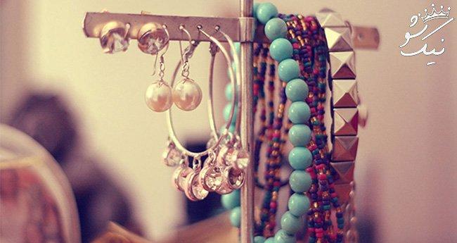 ست زیورآلات و لباس برای خانم های جوان و جذاب