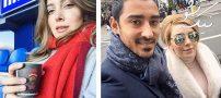 اینستاگردی با سروین بیات همسر رضا قوچان نژاد