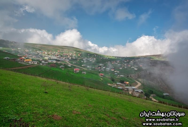 سوباتان بهشتی رویایی در تالش گیلان +آدرس و عکس