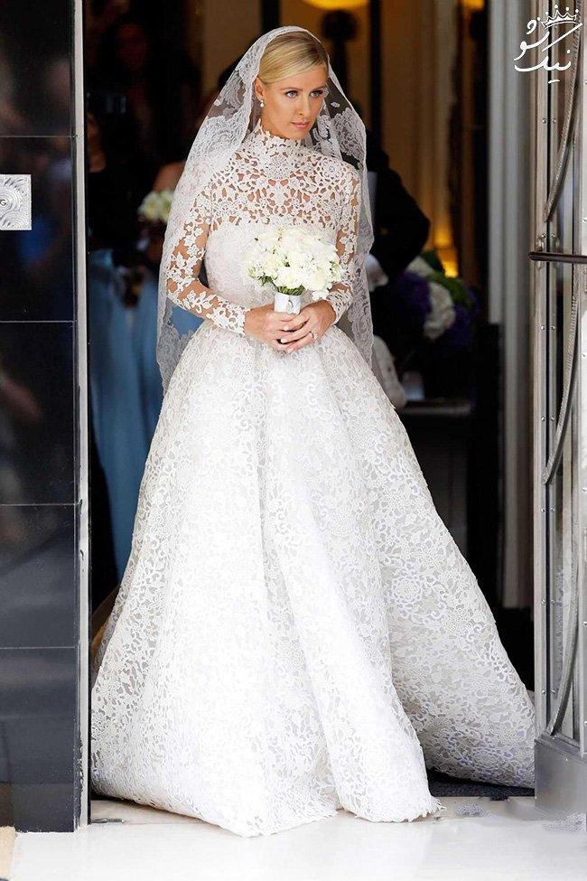 لباس عروس سلبریتی ها از آدری هیپورن تا کیت میدلتون