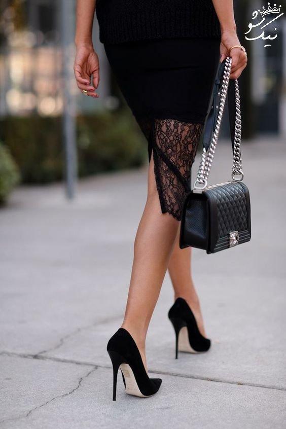 مدل های کفش پاشنه بلند پروانه ای +پاشنه بلند عروس