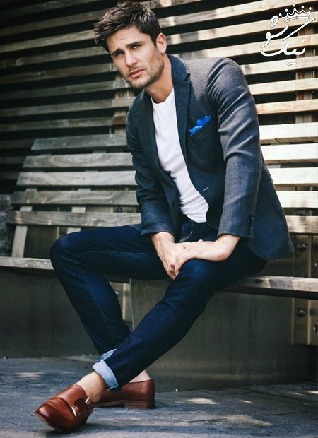 راهنمای ست کفش و شلوار جین مردانه