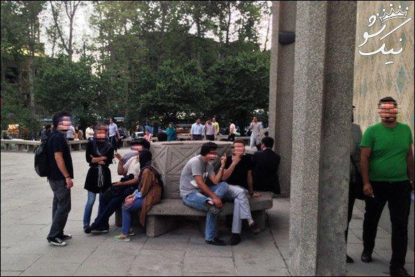پاتوق دوجنسه ها و همجنس بازها در پارک دانشجو و طالقانی