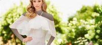 شیک ترین مدل های لباس عروس آستین بلند پوشیده