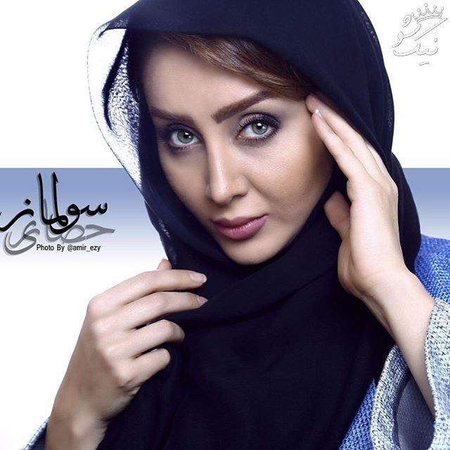 بیوگرافی سولماز حصاری بازیگر خوش چهره ایرانی