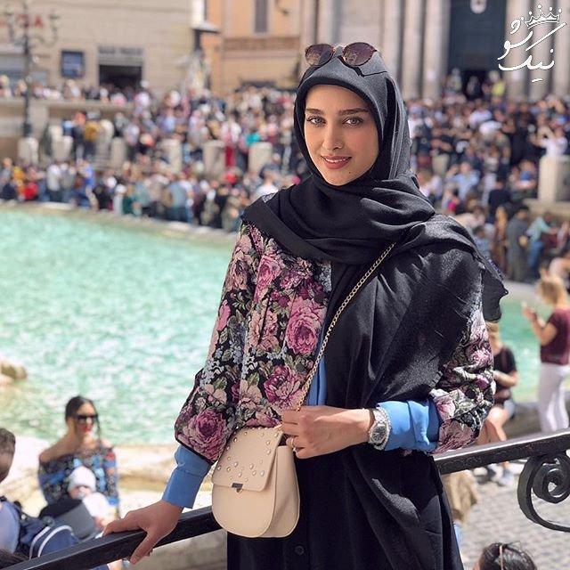آناشید حسینی ،حجاب استایل لاکچری به سبک ایرانی