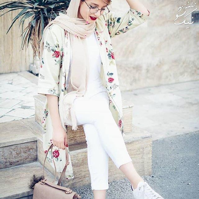 مدل مانتو اسپرت ،تابستان داغ با دختران خوش استایل