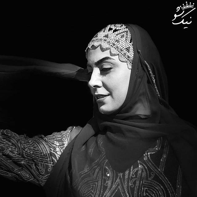 اینستاگردی با نیلوفر شهیدی بازیگر بی حاشیه ایرانی