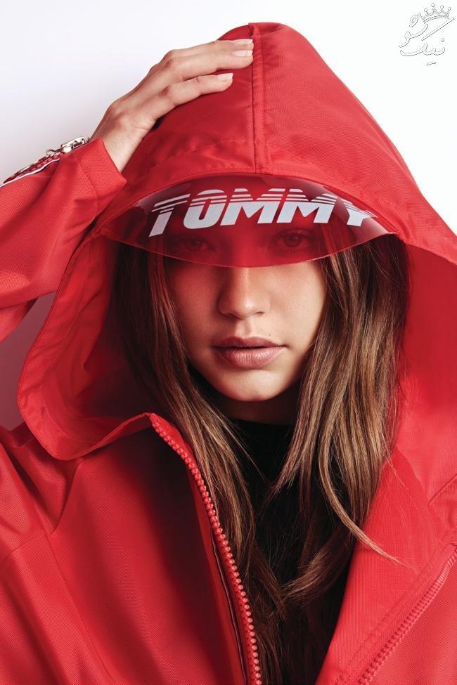 عکس های استودیویی Gigi Hadid برای کالکشن نهایی برند Tommy