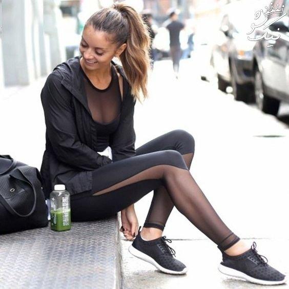 تیپ ورزشی دخترانه +مدل لباس ورزشی دخترانه باشگاه