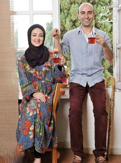 صمیمی با ویدا جوان و همسرش