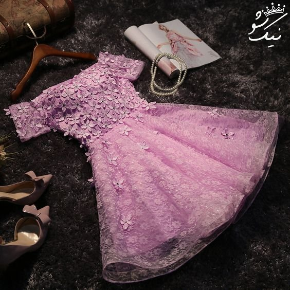 مدل لباس مجلسی شیک دخترانه کوتاه و بلند 2019
