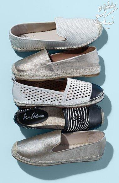 انواع کفش کنفی زنانه و مردانه که امسال مد هستند