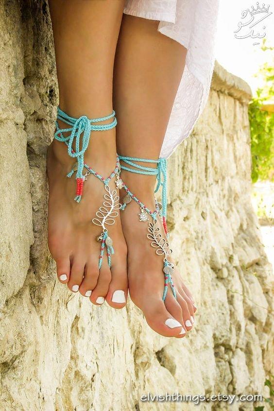با این مدل های پابند پاهایتان را جذاب تر کنید