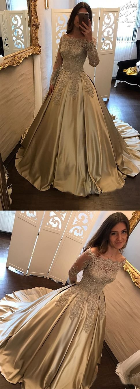 مدل لباس مجلسی شیک دخترانه کوتاه و بلند 2018