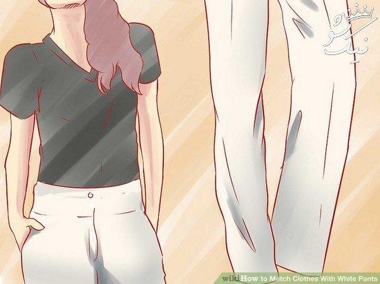 پیشنهادهای فوق العاده ست لباس با شلوار سفید