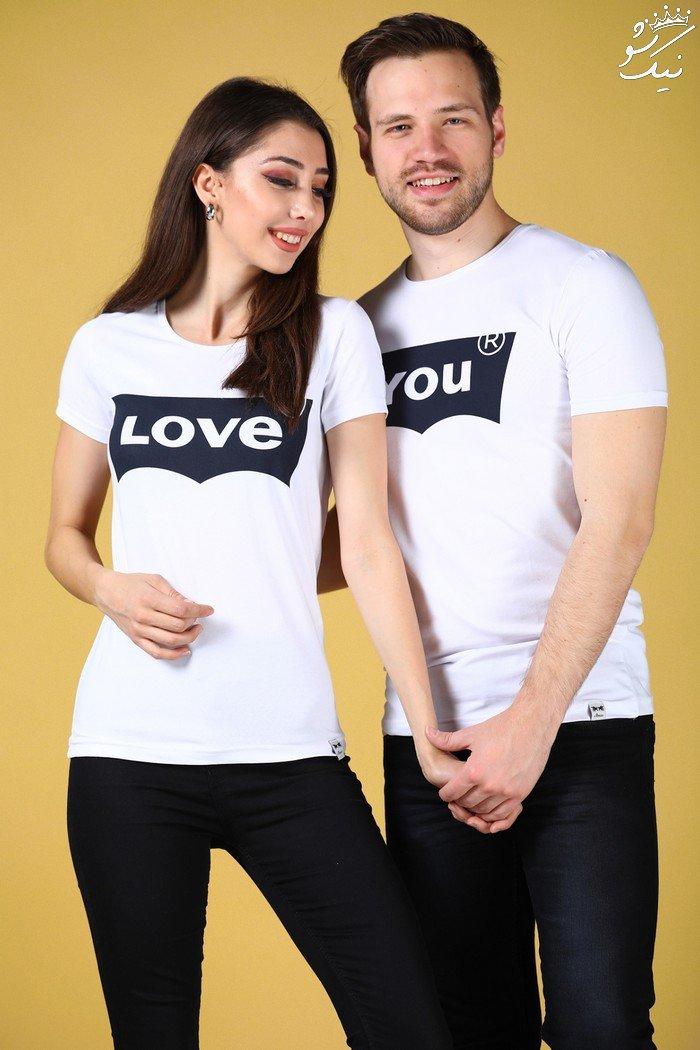 تیشرت های ست دونفره عاشقانه دختر و پسر