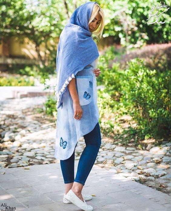 بهترین ژست عکس دخترانه اسپرت ایرانی